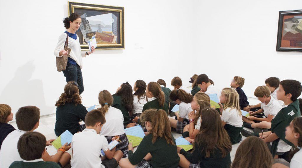 Visitas culturales en colegios